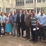 Thai delegation visits AAU